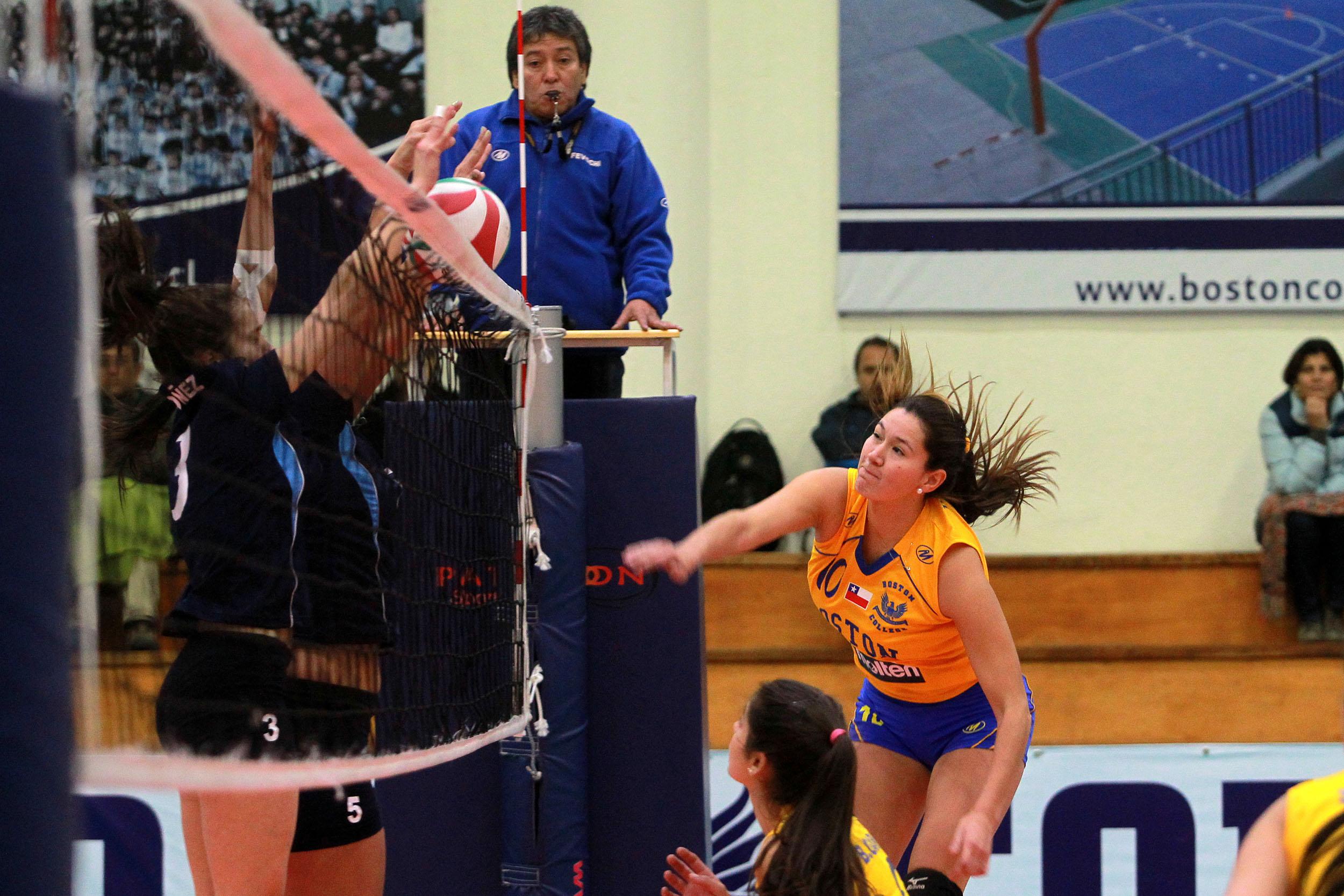 Voleibol chileno boston college vs club mortem 7